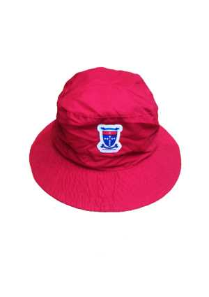 St Joseph's (Orakei) Bucket Hat Red